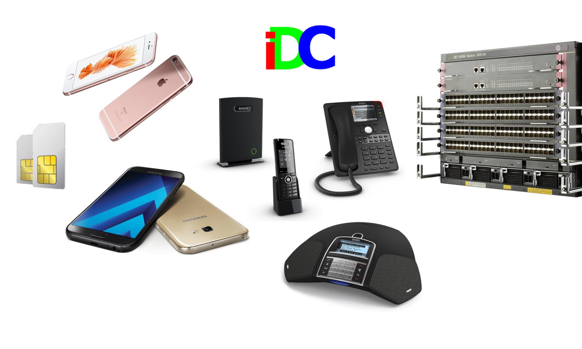 iDC Web Page Header