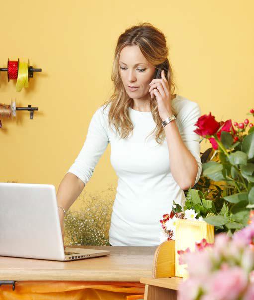 florist-laptop-phone